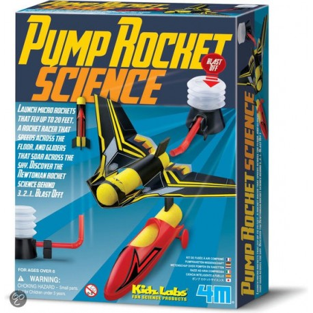 4M Kidzlabs Pump Rocket Science