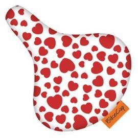 Bikecap | zadelhoes love you more rood
