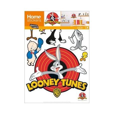 Muurstickers Bugs Bunny en vrienden