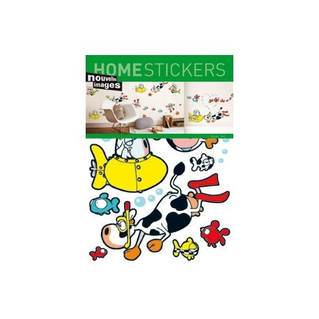 Home Stickers for Kids. Onder water