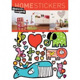 Home Stickers for Kids. Dierentuin
