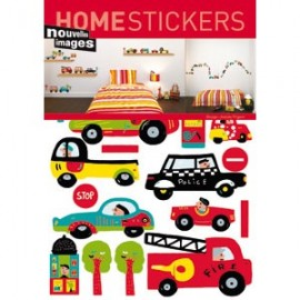 Home Stickers for Kids. Auto's