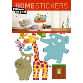 Home Stickers for Kids. Ark van Noah