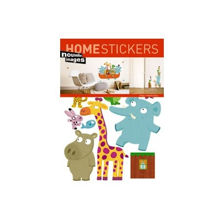 Home Stickers for Kids. Ark van Noah