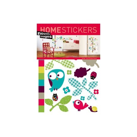 Home Stickers for Kids. Vogel verstophuisje