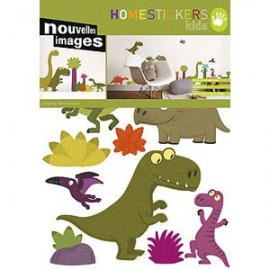 Home Stickers for Kids. Dino's