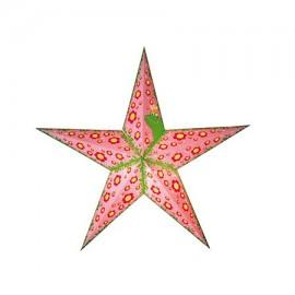 Papieren Kerstster Pretty Princes Roze
