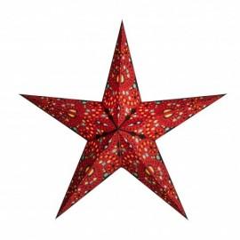 Papieren Kerstster Diwali Rood