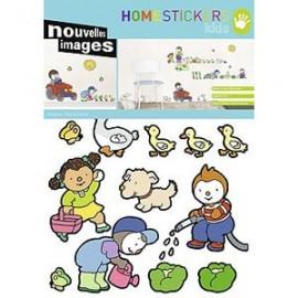 Home Stickers for Kids. Kinderboerderij