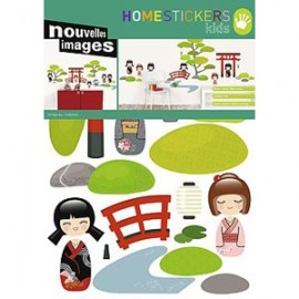 Home Stickers for Kids. Japanse Tuin