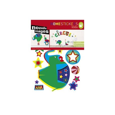 Home Stickers for Kids. Circus