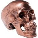 Spaarpot Skull Koper