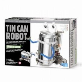 Bouwpakket'Robot uit blik'
