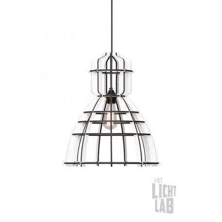 Industrielamp No. 19 WHITE EDITION Olaf Weller - Het Lichtlab