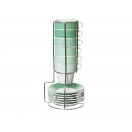 Espresso Set Ombre Emerald Groen