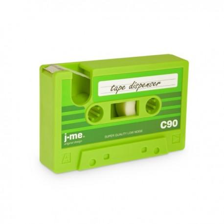 Plakbandhouder Retro Cassettebandje