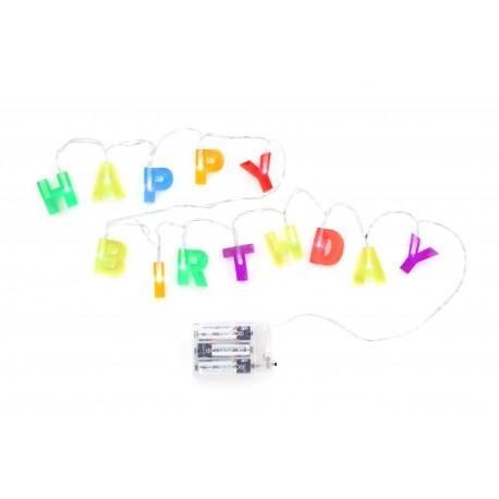Happy Birthday lampjes Kikkerland
