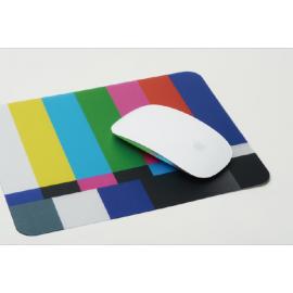 Muismat Testbeeld EBU-kleurenbalk