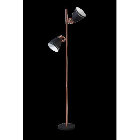 Vloerlamp Acate Koper 2 Lichts