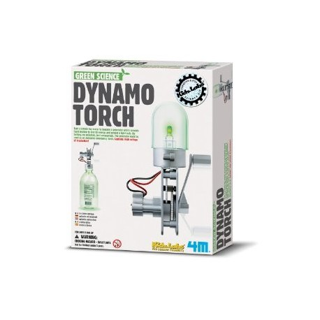 4M Dynamo Lamp Science
