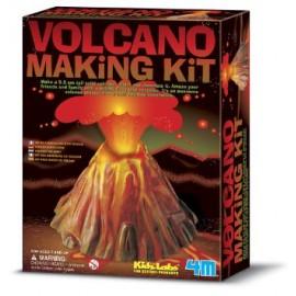 4M Giet en verf een vulkaan