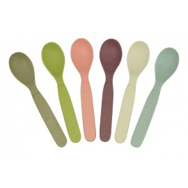 Zuperzozial Spoonful of Colour Pastel Lepeltjes Set van 6