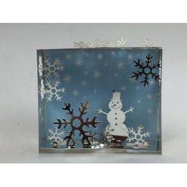 MiniWorld Magneet Sneeuwpop