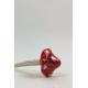 Paddenstoel Keramiek Rood met witte stippen