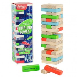 Het vallende stenen spel Tumbing Tower