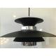 Hanglamp Potenza Zwart-Chroom