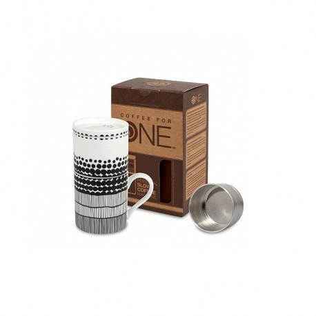 Koffiezetter Coffee for One Zwart/wit