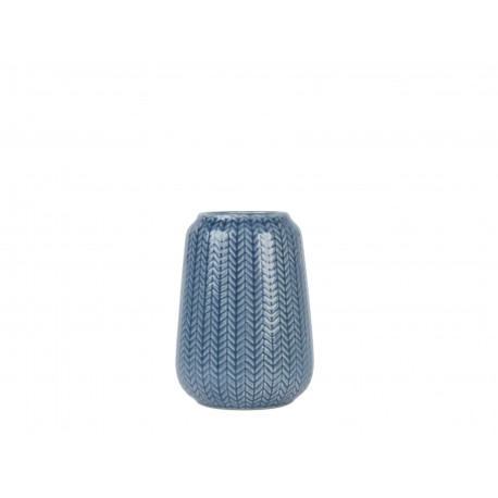 Vaas Knitted Blauw