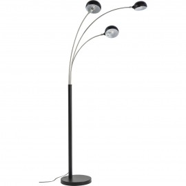 Voerlamp 3 Arms Zwart-Chroom Kare Design