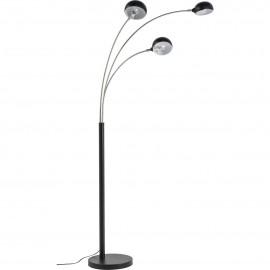 Voerlamp 3 Arms Zwart-Chroom Kare Design