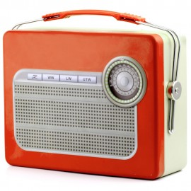 Lunchbox Retro Radio