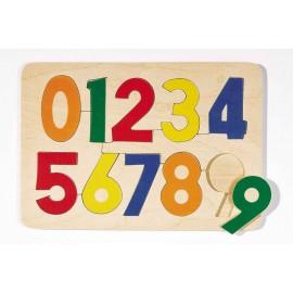 Houten Puzzel Cijfers