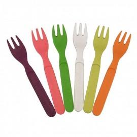 Forkful Of Colours Regenboog Gebaksvorkjes