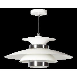 Hanglamp Potenza Wit-Chroom