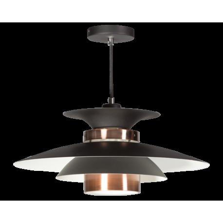 Hanglamp Potenza Zwart-Koper