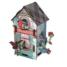 Vogelhuisje Playmates