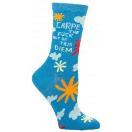 Hippe Dames Sokken-Carpe Diem