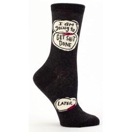 Hippe Dames Sokken-Get Shit Done