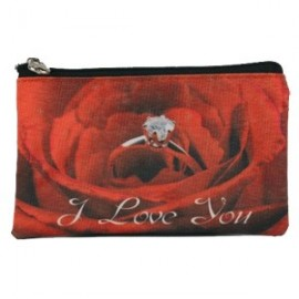 Portemonnee I Love You Rose